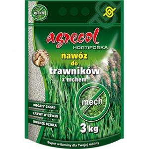 Agrecol Hortifoska nawóz do trawników z mchem 3kg