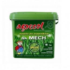 Agrecol Nawóz do trawników na mech 5 kg