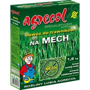 Agrecol Nawóz do trawników na mech 1,2 kg