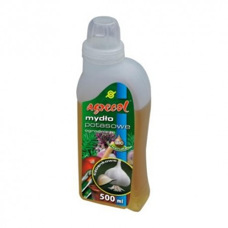 Mydło potasowe, ogrodnicze – czosnkowe 500 ml