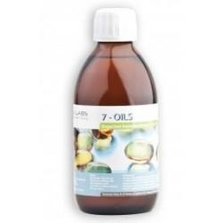 7-OILS Bogactwo kwasów omega-3,-6 i -9. 250 ml.